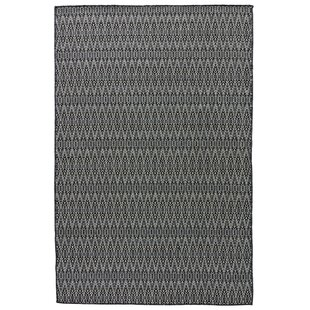 Wooten Charcoal Gray Indoor/Outdoor Area Rug