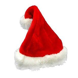 a5b71c12ce8 Traditional Plush Adult Santa Hat