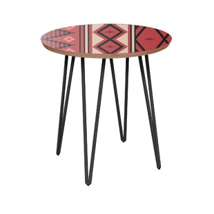 Hosler End Table By Bungalow Rose