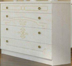 Charlton Home Melinda 4 Drawer Standard Dresser/Chest