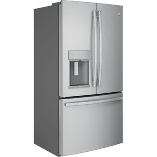 22.2 cu. ft. Energy Star® French Door Refrigerator with Hands-free Autofill by GE Profile™