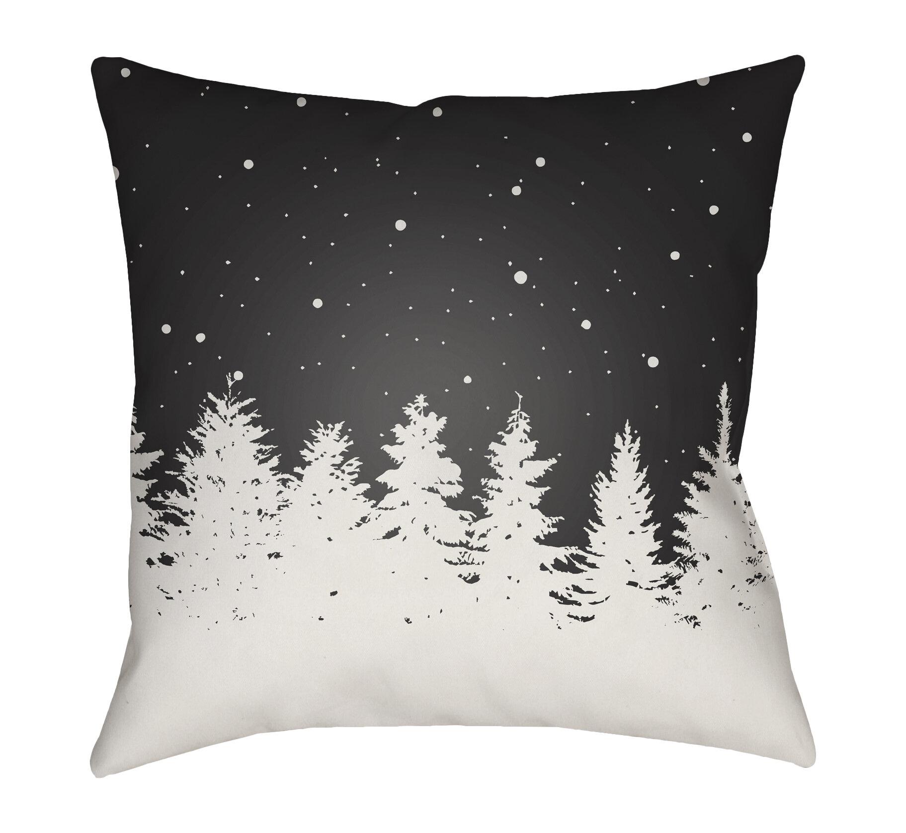 Loon Peak Frissell Trees Outdoor Throw Pillow Reviews Wayfair
