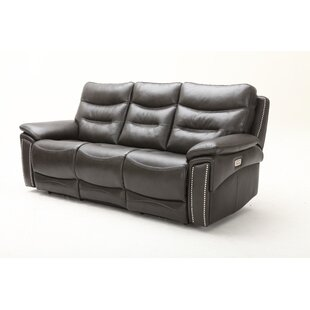 Price Check City Lights Leather Reclining Sofa by Southern Motion Reviews (2019) & Buyer's Guide