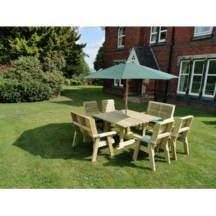 Lemaster Wooden Dining Table (Set Of 14) By Sol 72 Outdoor