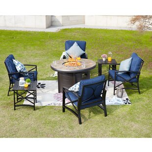 Zachariah 7 Piece Multiple Chairs Seating Group with Cushions