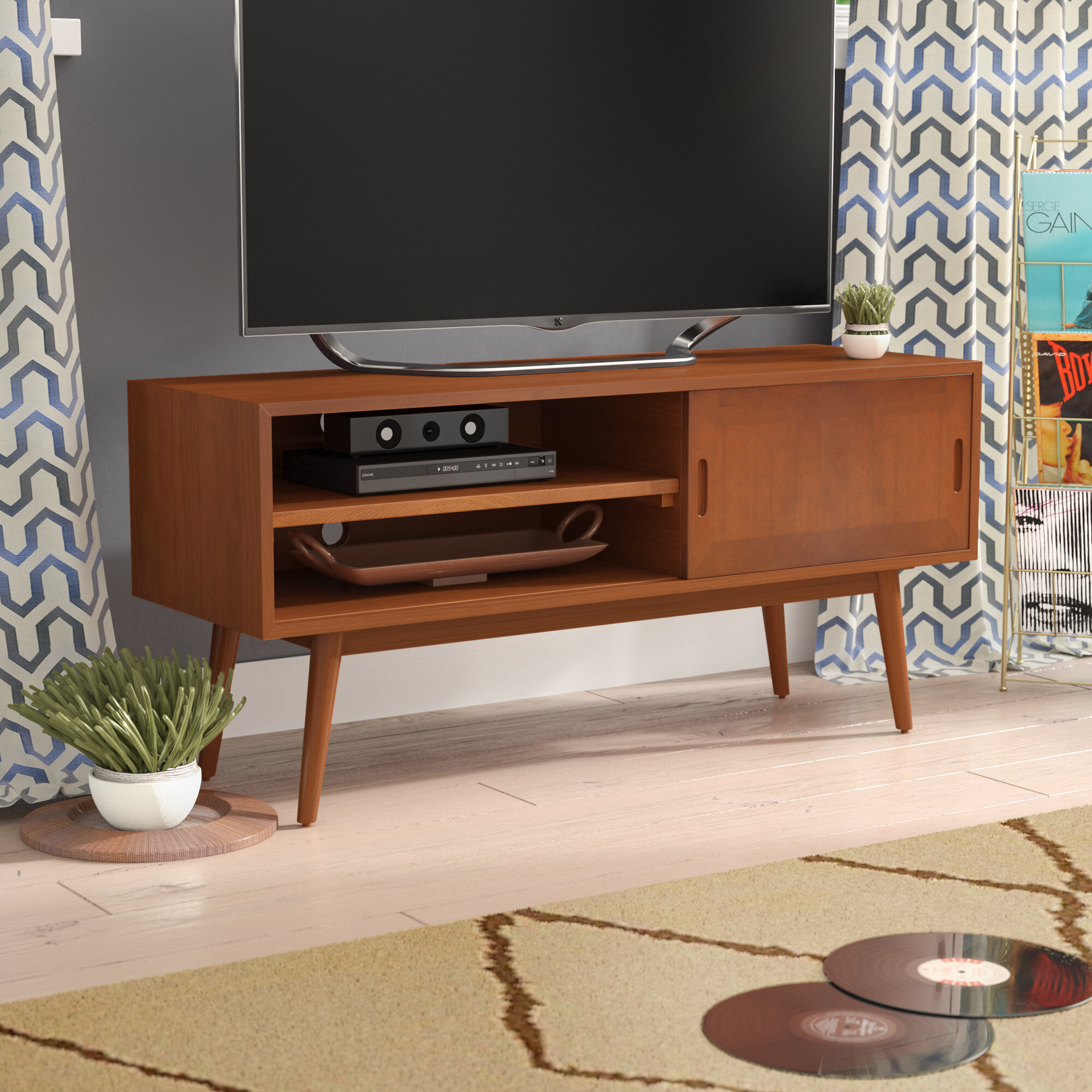 George Oliver Starksboro Media Console Tv Stand For Tvs Up To 65