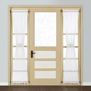 Forrester Sidelight Single Curtain PanelSidelight Curtains   Wayfair. Entry Door Sidelight Curtains. Home Design Ideas
