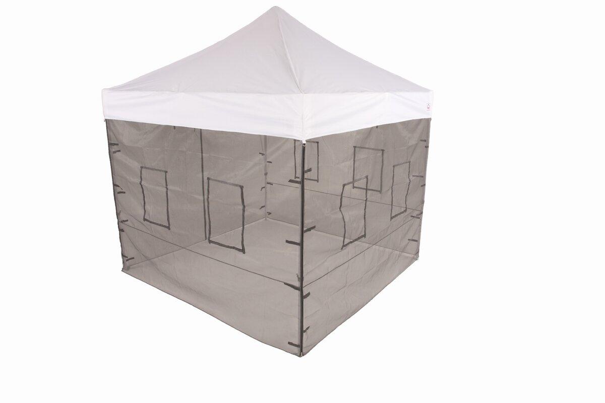 Pop Up Food Service Vendor Canopy Tent Sidewalls  sc 1 st  Wayfair & ImpactCanopy Pop Up Food Service Vendor Canopy Tent Sidewalls ...