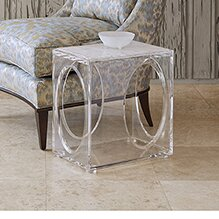 Ovoid End Table by Ambella Home Collection