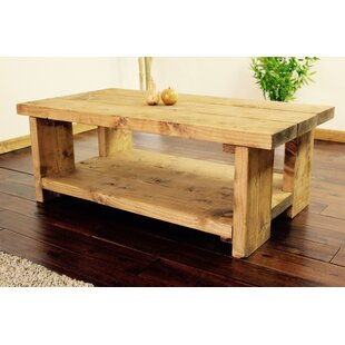 Donnely Rustic Coffee Table With Storage By Alpen Home