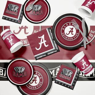 Game Day Party 89 Piece Plate Set