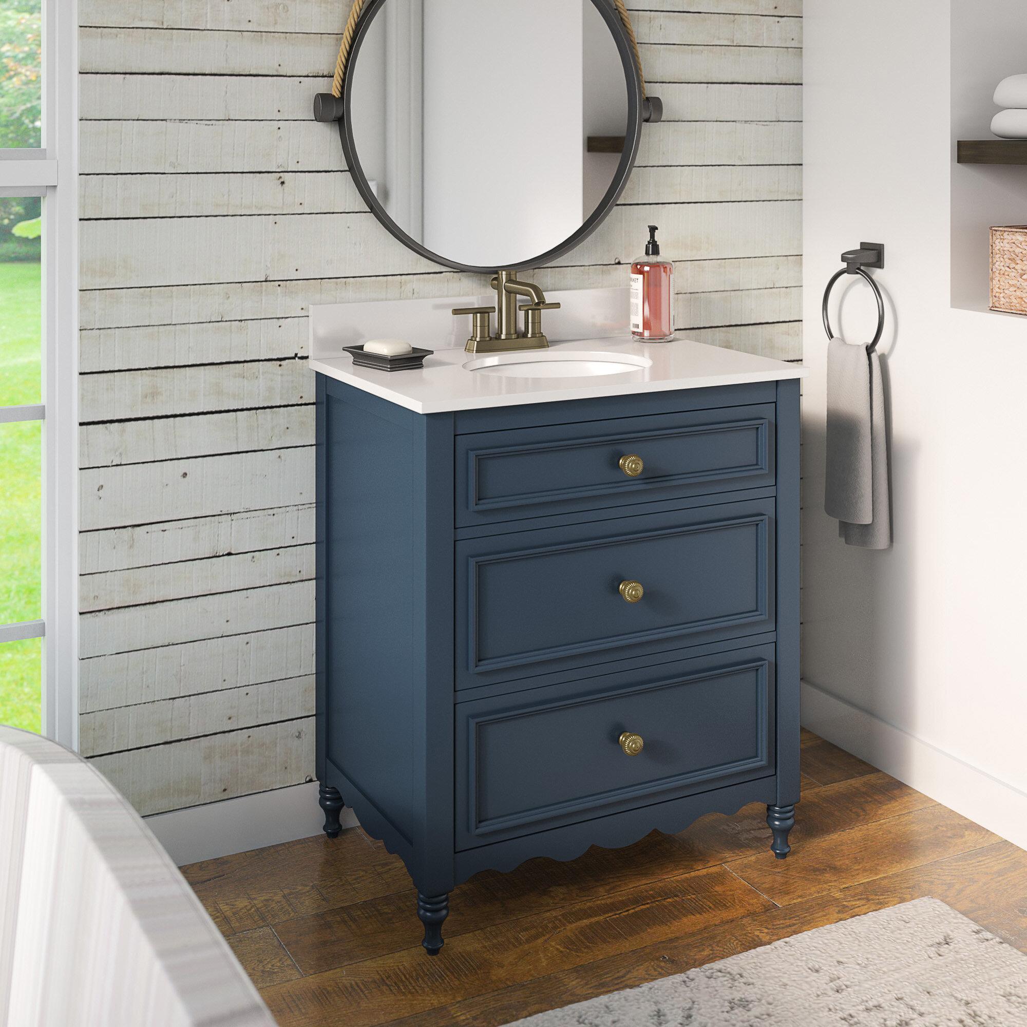 Canora Grey Trapani 30 Single Bathroom Vanity Set Reviews