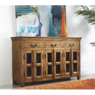 Charlton Home Hoyle 6 Door 3 Drawer Credenza