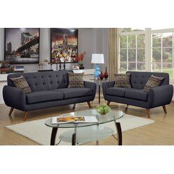 Langley Street Wooten 2 Piece Living Room Set Reviews