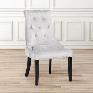 Lucas Button Tufted Nail Head Trim Side Chair (Set of 2) Uptown Club