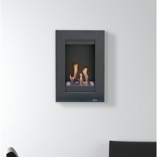 Morfeo Wall Mounted Bio Ethanol Fire By PURLINE