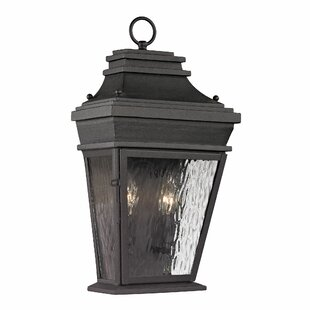Maxen 2-Light Outdoor Wall Lantern By Alcott Hill Outdoor Lighting