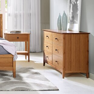 Eco Ridge by Bamax Willow 6 Drawer Double Dresser