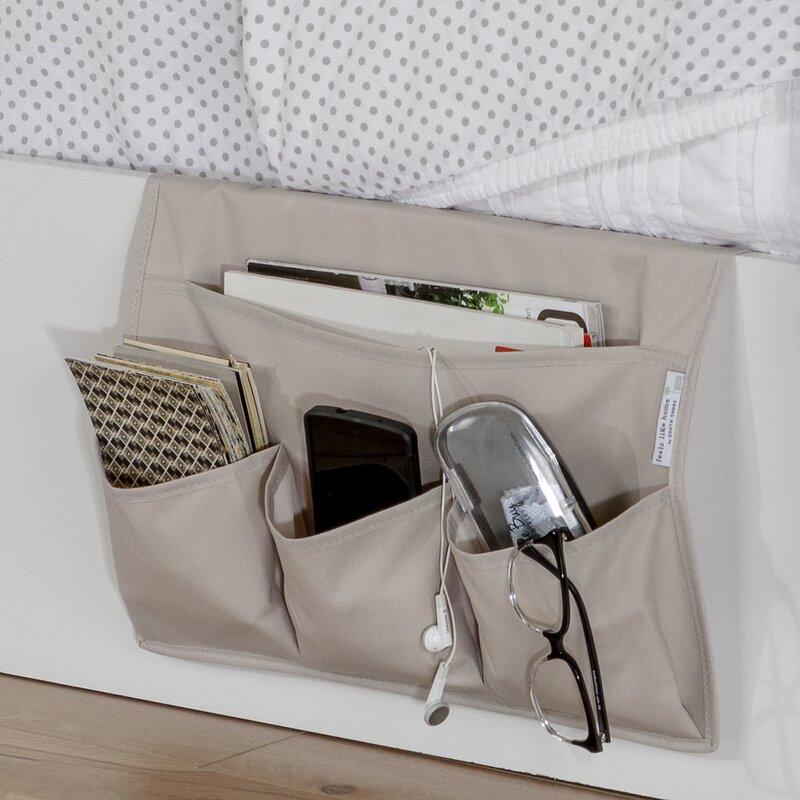 Storit Canvas Bedside Storage Caddy