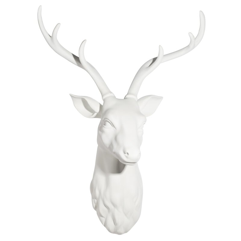 Union Rustic Stag Head Wall Décor