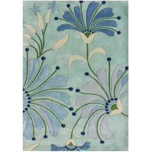 Giovanni Hand-Tufted Nile Blue Area Rug