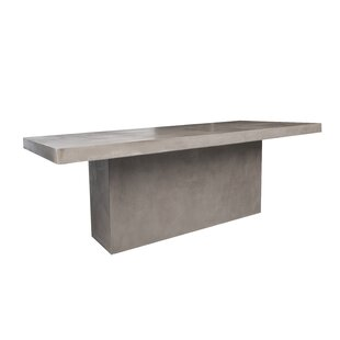 Linhart Stone/Concrete Dining Table by 17..