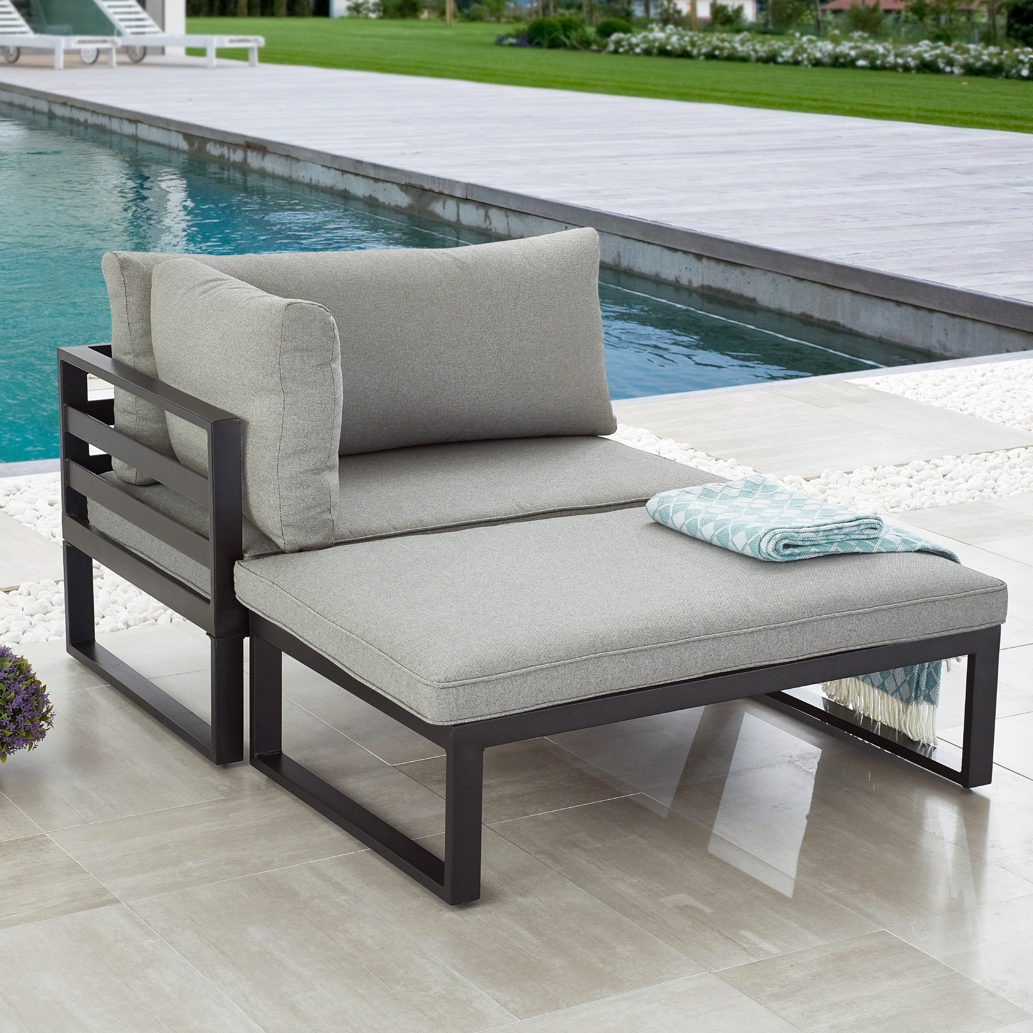 Ebern Designs Northview 2 Piece Seating Group With Cushions Reviews Wayfair Ca