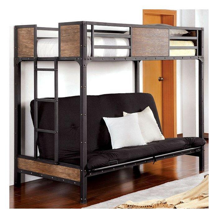 Fresno Twin Futon Bunk Bed