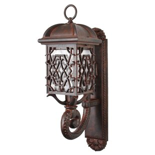 Penfield 1-Light Outdoor Sconce by Alcott..