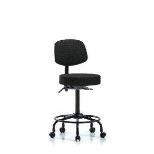 Berenice Round Tube Base Height Adjustable Lab Stool