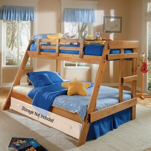 Twin over Full Bunk Bed by Chelsea Home