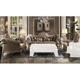 Dicken 3 Piece Living Room Set by Astoria Grand