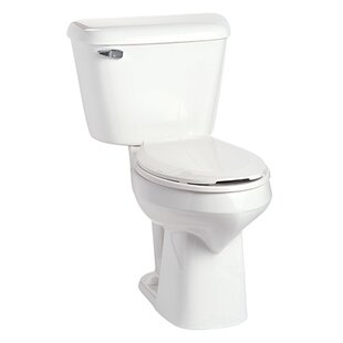 Mansfield Plumbing Products Alto SmartHeight 1.6 GPF Elongated Two-Piece Toilet Image