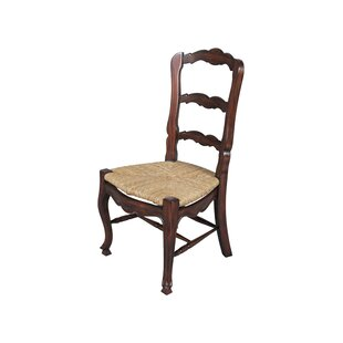 Compare prices Bordeaux Solid Wood Dining Chair (Set of 2) by Manor Born Furnishings Reviews (2019) & Buyer's Guide
