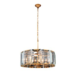 Everly Quinn Genovese 6-Light Chandelier