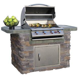 4-Burner Propane Gas Grill with Cabinet by Cal Flame