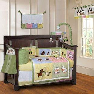 Simpkins Barnyard Farm Baby 10 Piece Crib Bedding Set