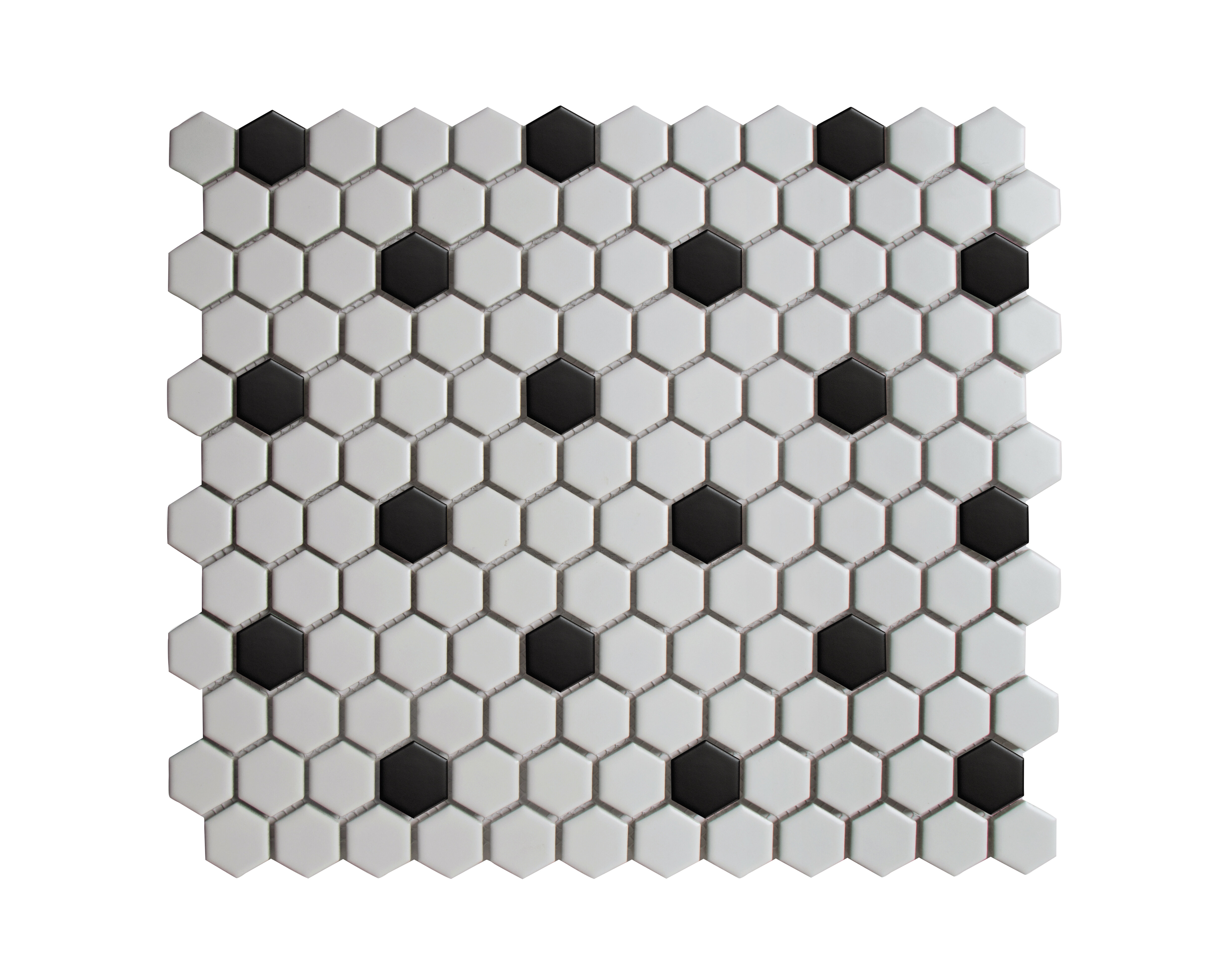 """Value Series 5"""" x 5"""" Porcelain Mosaic Sheet Tile"""