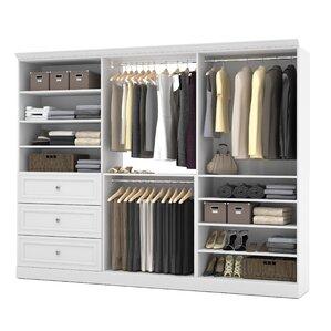 Lovely Hamilton Closet Organizer Kit