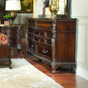 Astoria Grand Chorleywood 10 Drawer Dresser