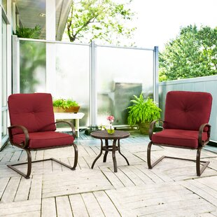 Weatherholt 3 Piece Conversation Set with Cushions