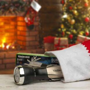 Multitool Black/Gray LED Outdoor Flashlight By Touch Of ECO