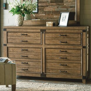 Loon Peak Brigadoon 6 Drawer Double Dresser