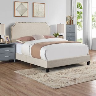 Cassandra Upholstered Simple Panel Bed by Birch Lane™