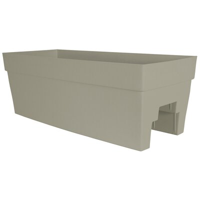 DCN Plastic Self-Watering Rail Planter