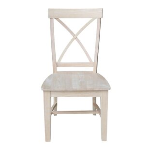 Morais Solid Wood Dining Chair (Set of 2)