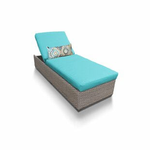 Florence Reclining Chaise Lounge with Cushion