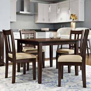 Primrose Road 5 Piece Dining Set & Square Kitchen u0026 Dining Room Sets Youu0027ll Love | Wayfair