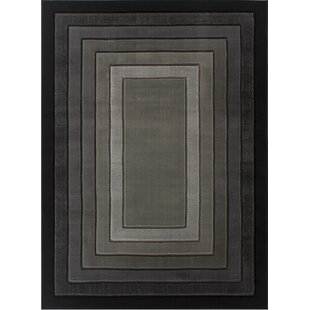 Penrith Black/Gray Area Rug ByWilliston Forge
