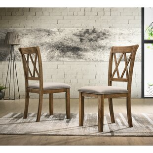 Gracie Oaks Leonila Upholstered Dining Chair (Set of 2)